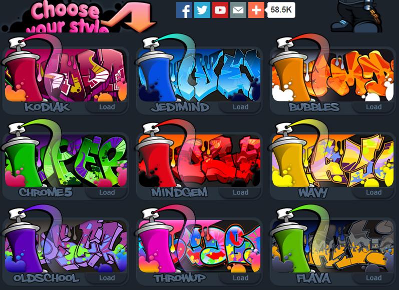Editor de graffitis factor death hack - Paginas web de decoracion ...